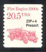 USA 1985 Fire Engine/ Emergency Vehicles/ Rescue/ Transport/ Motors 1v o/p (n24535)