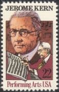 USA 1985 Jerome Kern/ Music/ Composer/ Musician/ Art/ Musical Score/ People 1v (n44831)
