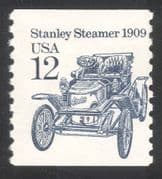 "USA 1985 Stanley ""Steamer""/ Cars/ Motoring/ Motors/ Transport 1v coil (n24529)"