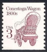 USA 1985 Transport  /  Horse Drawn Wagon 1v (n24531)