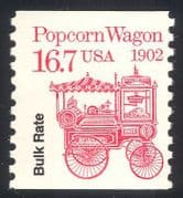 USA 1985 Transport/ Popcorn Wagon/ Motors o/p 1v coil (n29304)