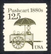USA 1985 Transport  /  Push Cart  /  Fruit  /  Scales 1v (n29314)