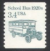 USA 1985 Transport  /  School Bus  /  Motors  /  Wagon 1v (n24534)
