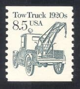 USA 1985 Transport/ Tow Truck/ Motors/ Motoring/ Business/ Commerce 1v coil (n24521)