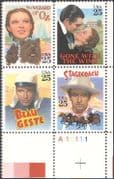 USA 1990 Classic Films/ Cinema/ Movies/ Actors/ Acting/ Entertainment 4v blk (n42210)