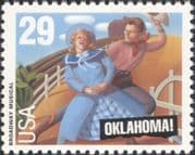 "USA 1993  ""Oklahoma""/ Musicals/ Theatre/ Entertainment/ Acting/ Music/ Actors 1v (us1015)"