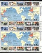 USA 1993 Second World War/ WWII/ Planes/ Ships/ Military/ Army/ Nurse/ Soldiers/ Transport/ Maps 20v sht (n25004)