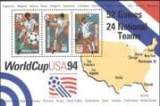 USA 1994 Football World Cup Championships/ WC/ Soccer/ Sports/ Games/ Maps 3v m/s (n43809)
