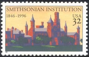 USA 1996 Smithsonian Institution/ Museum/ Zoo/ Buildings/ Architecture 1v (n44366)
