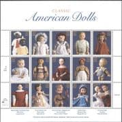 USA 1997 American DOLLS/ Children's Toys/ Heritage/ History/ People 15v sht (n15892)