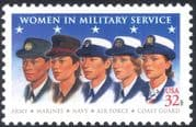 USA 1997 Women/ Military /Armed Services/ Uniforms/ Army/ Navy/ Air Force/ Marines/ Coast Guard 1v (n44052)