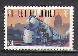 USA 1999 Steam Engine  /  Train  /  Railway  /  Transport 1v n24276