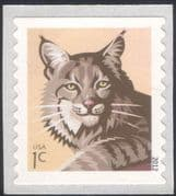 USA 2012 Bobcat/ Cats/ Wildlife/ Animals/ Nature/ Conservation 1v s/a ex coil (n44588a)