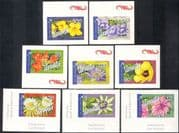 Vanuatu 2006 Flowers/ Trees/ Vines/ Plants/ Nature/ Lily/ Hibiscus/ International Postage 8v set s/a (n43194)