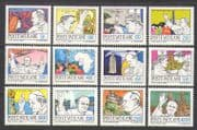 Vatican City 1984 Pope John Paul II/ Papal  Visits/ Travels/ Journeys 12v set (n23312)