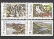 Venda 1981 Waterfalls  /  Lakes  /  Tourism 4v set (n24681)