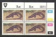 Venda 1989 Lizards  /  Reptiles 15c phos c  /  b rprnt (n20210)