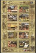 Venezuela 2006 Tribe  /  River  /  Forest  /  Waterfall  /  Boats  /  Hunting  /  People 10v sht n35053