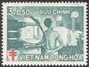 Vietnam 1960 Anti-TB/\ Tuberculosis/\ Medical/ Health/ Welfare/ X-Ray 1v (n43642)