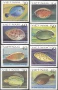 Vietnam 1982 Flounders/ Soles/ Fish/ Marine/ Nature/ Wildlife 8v set imperforate (n43650)