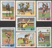 Vietnam 1985 Football World Cup Championships (1986)/ WC/ Mexico/ Sports/ Soccer/ Goalkeepers 7v set (n43859)