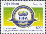 Vietnam / Viet Nam  2004 FIFA 100th Anniversary/ Football/ Sports/ Soccer/ Games 1v (s1635d)