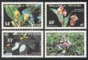 Wallis & Futuna 1982 Orchids  /  Flowers  /  Plants  /  Nature  /  Orchid 4v set (n39192)
