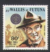 Wallis & Futuna 1982 Scouts  /  Baden-Powell  /  Scouting  /  People  /  Youth  /  Leisure 1v n34736