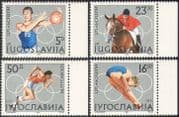Yugoslavia 1984 Olympic Games/ Olympics/ Sports/ Basketball/ Show Jumping/ Diving/ Equestrian/ Athletics/ Horses 4v (n42465)