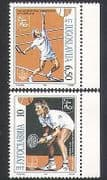 Yugoslavia 1990 Tennis  /  Sports  /  Games 2v set (n34497)