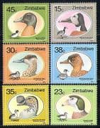 Zimbabwe 1988 Ducks  /  Goose  /  Birds  /  Nature 6v set (n29960)