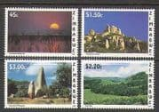 Zimbabwe 1996 Sunset  /  Views  /  Tourism 4v set (n23058)