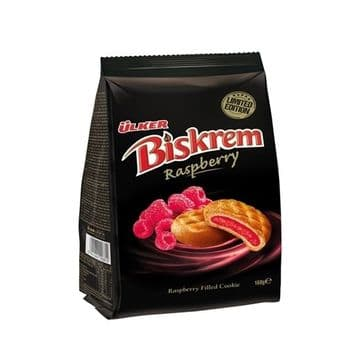 Ülker  Biskrem Raspberry 160g ( Turkey )