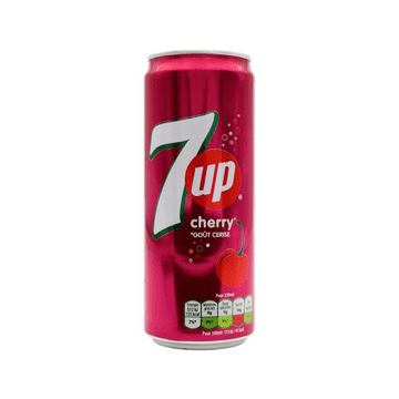 7UP  Cherry 33cl ( France )