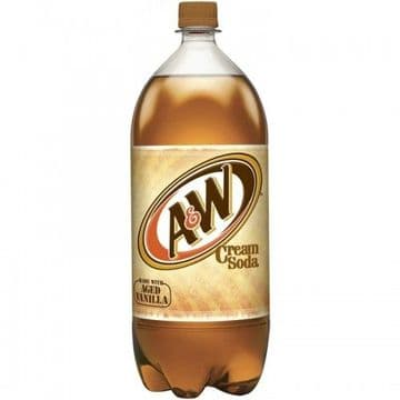 A&W Cream Soda 2 Litre (US)