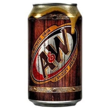 A&W Root Beer 355ml (US)