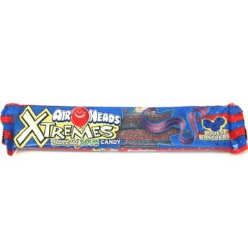 AirHeads Xtreme Bluest Raspberry Belts 56g  ( US )
