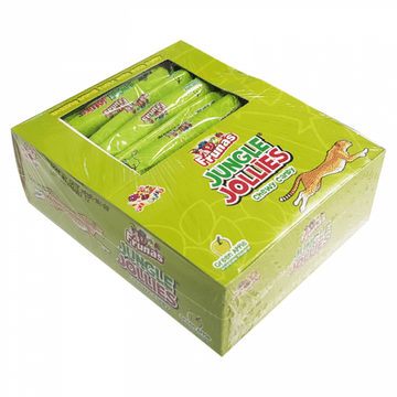 Albert's Frunas Jungle Jollies Green Apple 0.28oz (7g)   48 Box ( US )