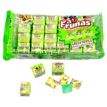 Alberts Frunas Fruit Chews Green Apple ( US )