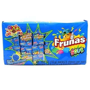 Alberts Frunas Sour Blue Raspberry 0.35 oz (18g) ( US )