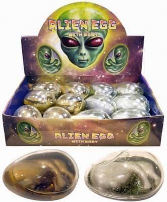 Alien Attack Egg Slime Putty with Baby Alien