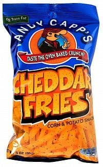 Andy Capp's Cheddar Fries 85g (US)