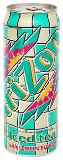 Arizona Iced Tea with Lemon (680ml) Big Can (US)