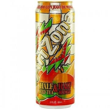 Arizona Mango Half and Half 23oz 680ml ( US )