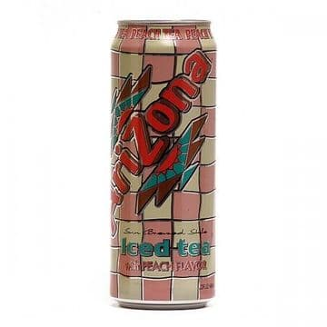 Arizona Peach Ice Tea 23oz 680ml ( US )