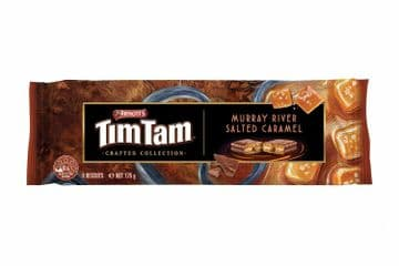 Arnotts Tim Tam Crafted Collection - Murray River Salted Caramel (175g)  ( Australia )