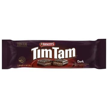 Arnotts Tim Tam - Dark Chocolate (200g) ( Australia )