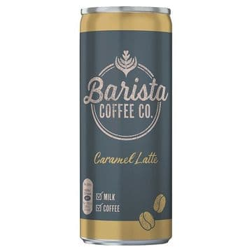 Barista Coffee Co. Caramel Latte 250ml (UK)