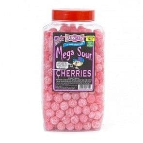 Barnett's Mega Sour Cherry 100g  (UK)
