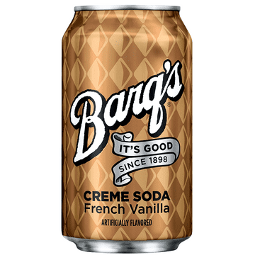 Barq's Creme Soda - French Vanilla - 12fl.oz (355ml)  (US)